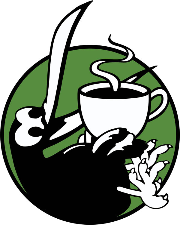 Caffienated Kiwi Icon Logo 2019