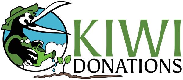 Kiwi Donations logo