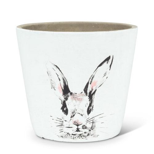 Abbott Decor Large Bunny Head Pot