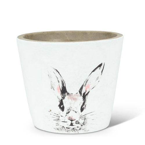 Abbott Decor Medium Bunny Head Planter