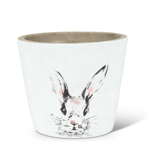 Abbott Decor Medium Bunny Head Planter