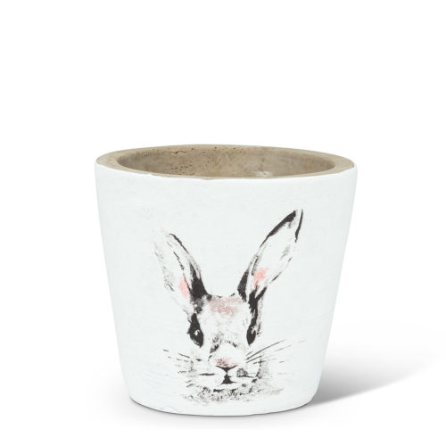Abbott Decor Extra Small Bunny Head Planter