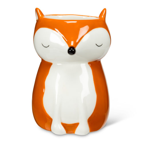 Abbott Sitting Fox Planter
