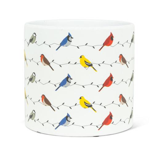 Abbott Large Multi Birds Pot
