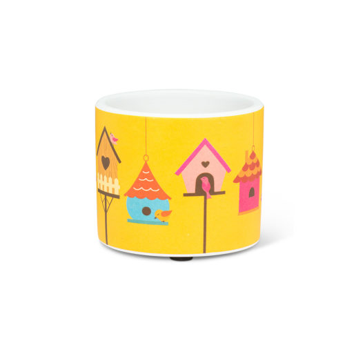 Abbott Decor Extra Small Birdhouse Row Pot