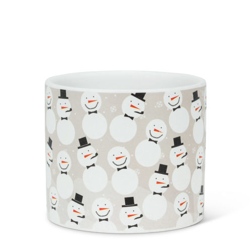 Abbott Small Scatter Snowmen Planter