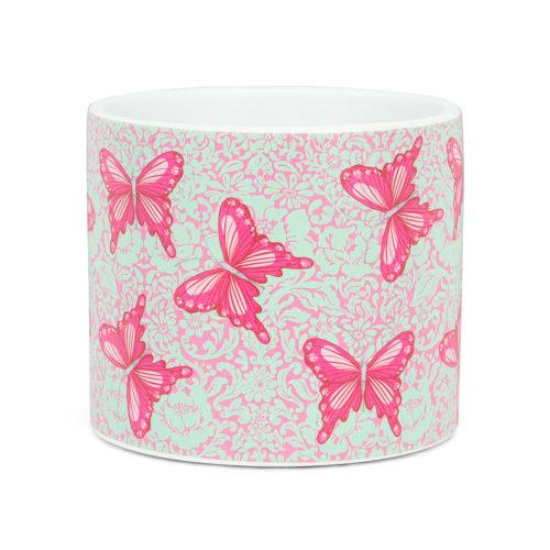 Abbott Decor Small Bold Butterflies Pot