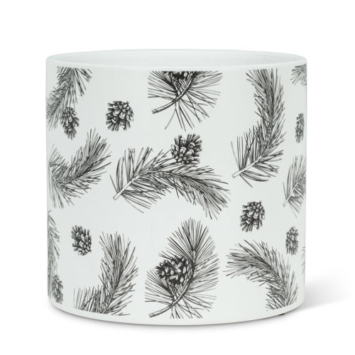 Abbott Decor Large Pinecone Planter