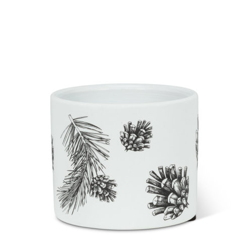 Abbott Extra Small Pinecone & Branch Planter