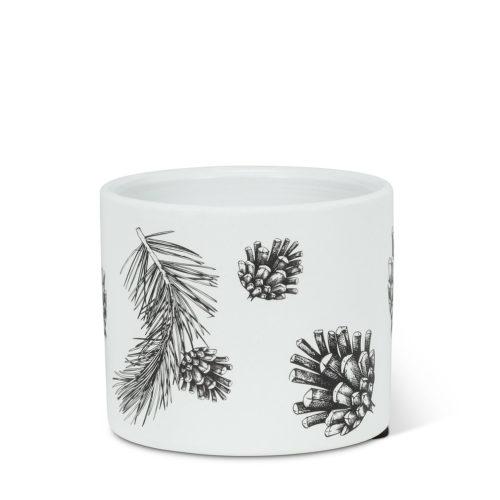 Abbott Extra Small Pinecone & Branch Pot