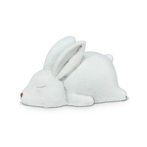 Abbott decor Sleeping White Bunny