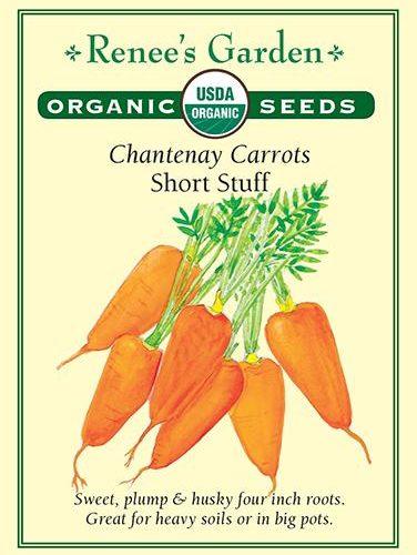 Chantenay Carrots Short Stuff pack