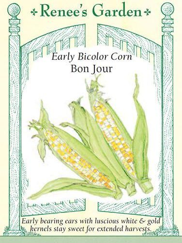 Early Bicolour Corn Bon Jour pack