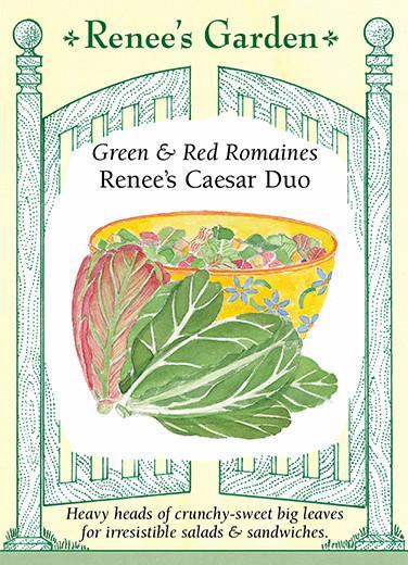 Green and Red Romaines Renee's Caesar Duo pack