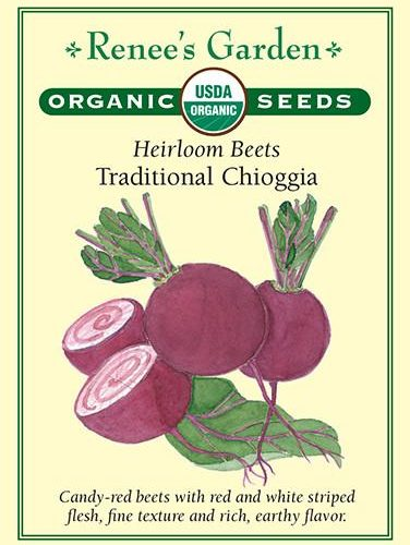 Heirloom Beets Traditional Chioggia pack