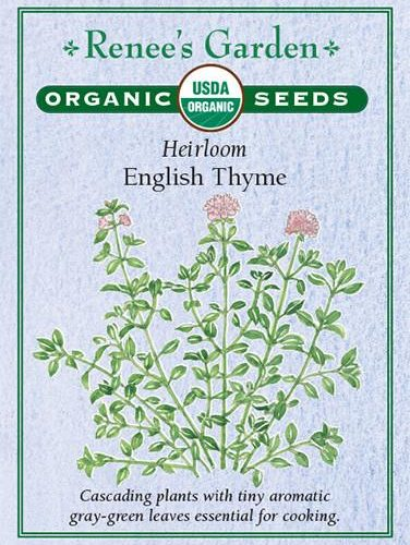 Heirloom English Thyme pack