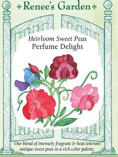 Heirloom Sweet Peas Perfume Delight pack