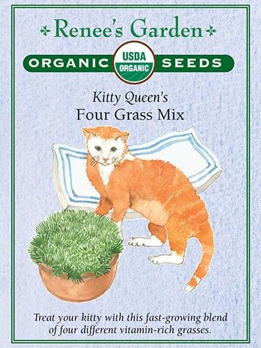Kitty Queen's Four Grass Mix pack