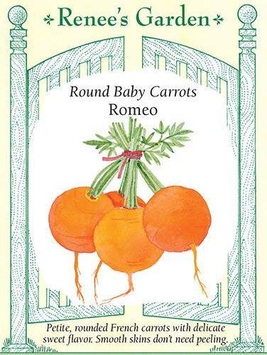Round Baby Carrots Romeo pack