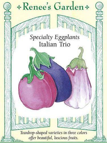 Specialty Eggplants Italian Trio pack