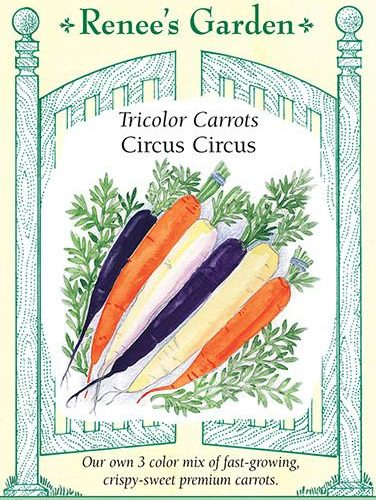 Tricolor Carrots Circus Circus pack