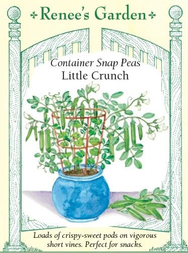 Container Snap Peas Little Crunch