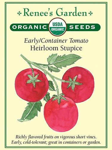 Early/Container Tomato Heirloom Stupice