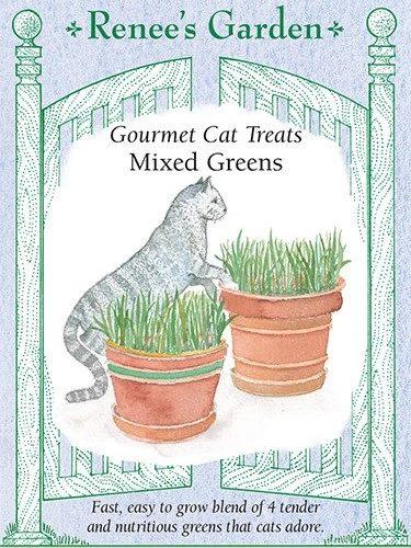 Gourmet Cat Treats Mixed Greens