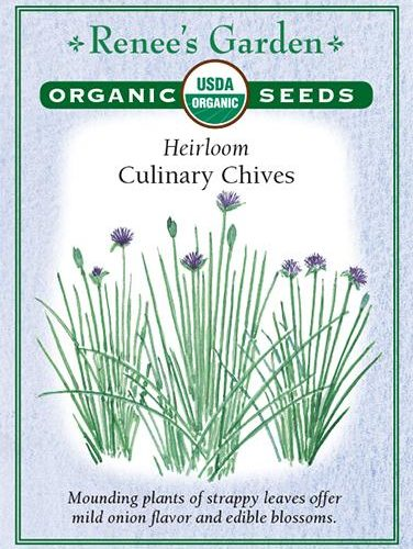 Heirloom Culinary Chives