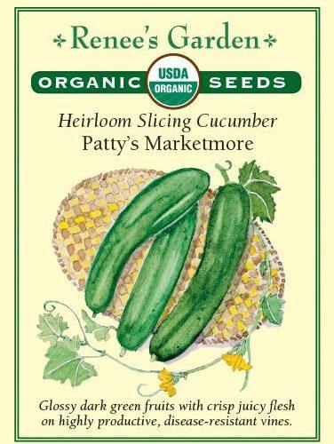 Heirloom Slicing Cucumber Patty's Marketmore