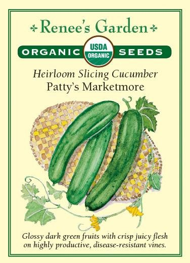 Heirloom Slicing Cucumber Patty's Marketmore